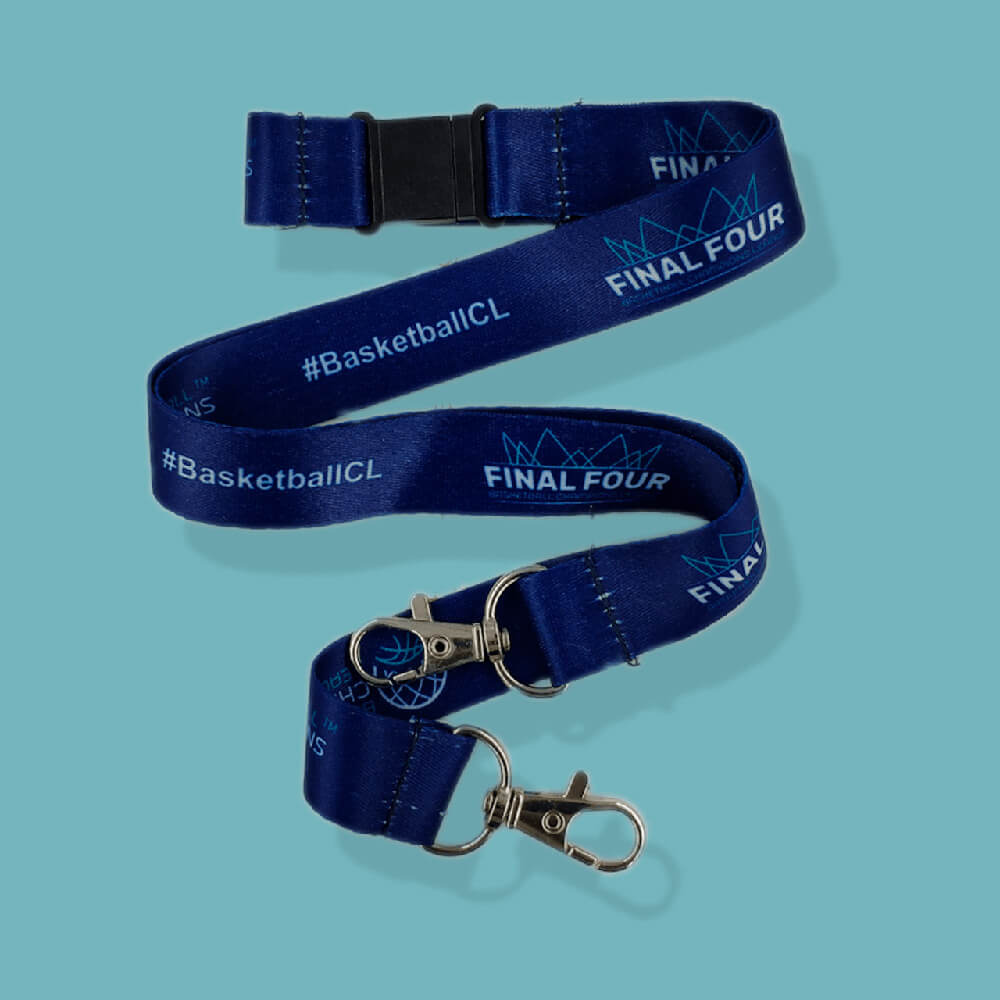 Lanyards avec double attache