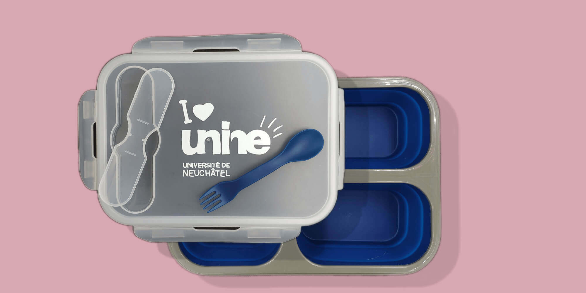 Lunch box pliable
