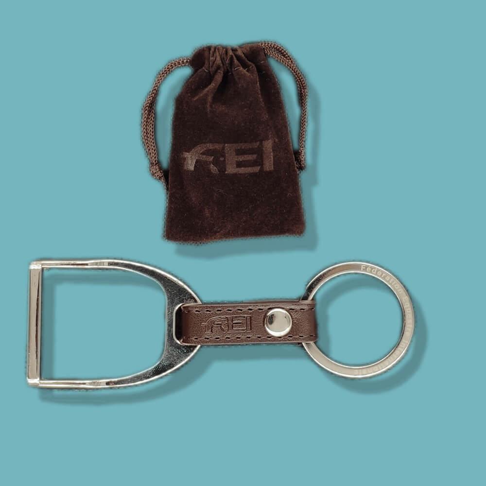 Porte-clef sur-mesure en cuir
