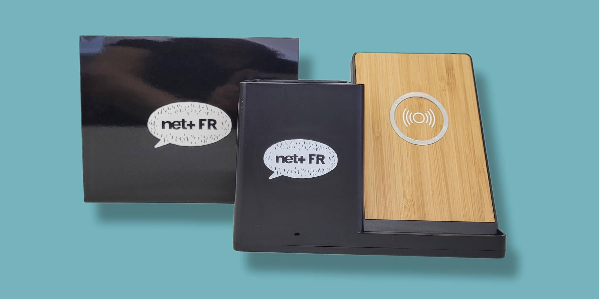 Netplus - porte crayon induction personnalisé